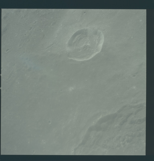 AS12-51-7465 - Apollo 12 - Apollo 12 Mission image  - View of Crater Madler.