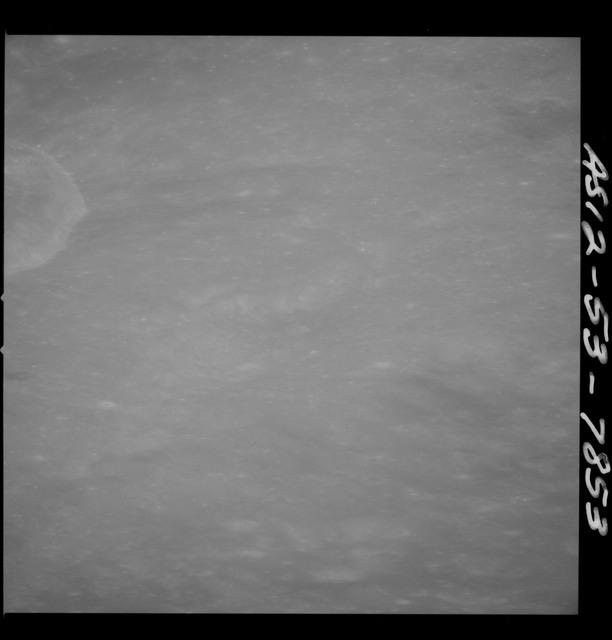 AS12-53-7853 - Apollo 12 - Apollo 12 Mission image  - View of La Lande Crater