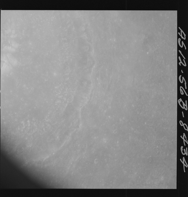 AS12-56B-8434 - Apollo 12 - Apollo 12 Mission image  - View of Crater Theophilus