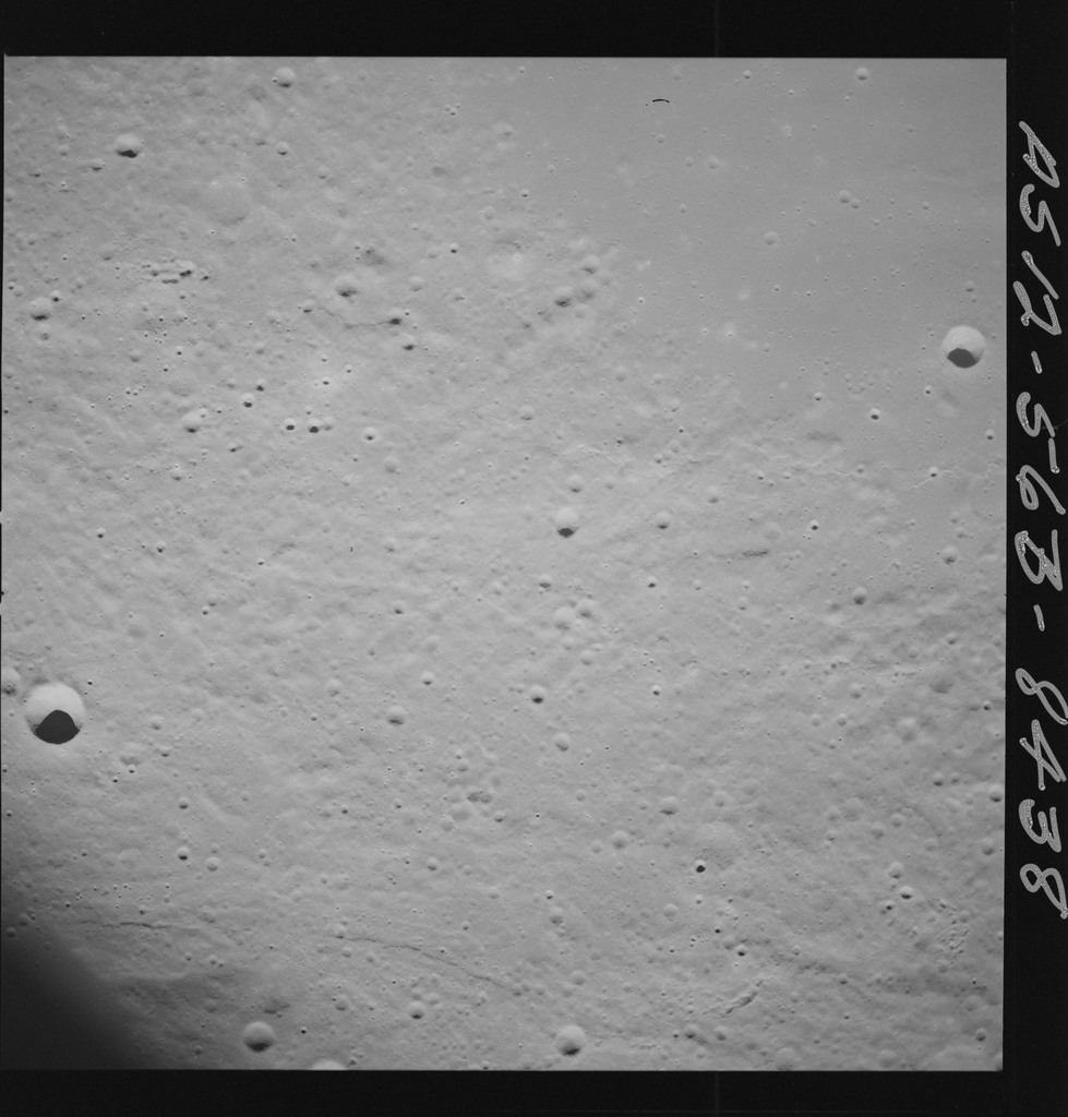 AS12-56B-8438 - Apollo 12 - Apollo 12 Mission image  - View of Crater Fra Mauro