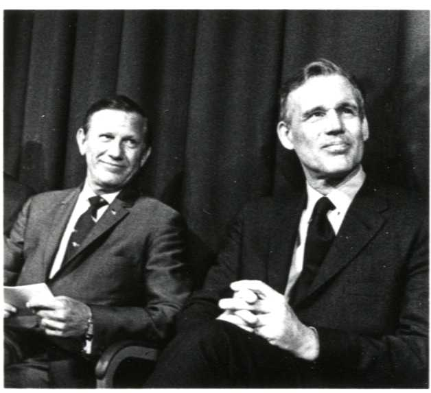 Governors John A. Volpe and Francis W. Sargent