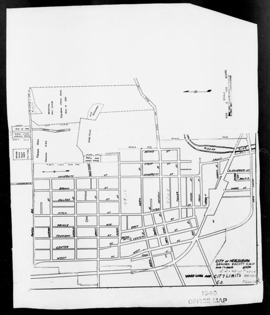 1940 Census Enumeration District Maps