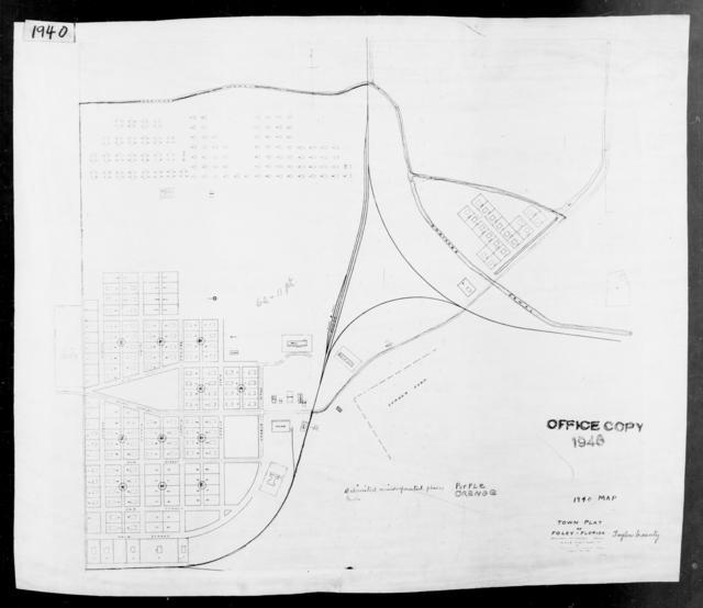 1940 Census Enumeration District Maps - Florida - Taylor County - Foley - ED 62-11