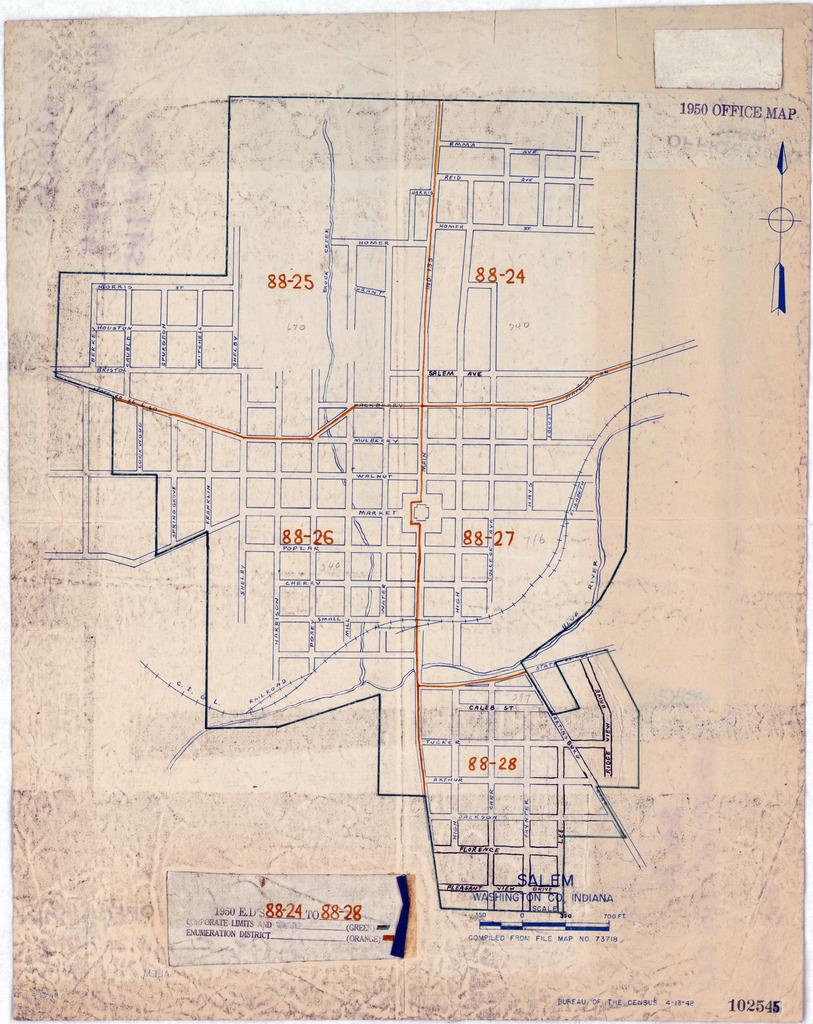 1950 Census Enumeration District Maps - Indiana (IN ... on salem in october, salem on halloween, salem logo, salem india, salem mall, salem golf club, salem capitol building, salem tv,