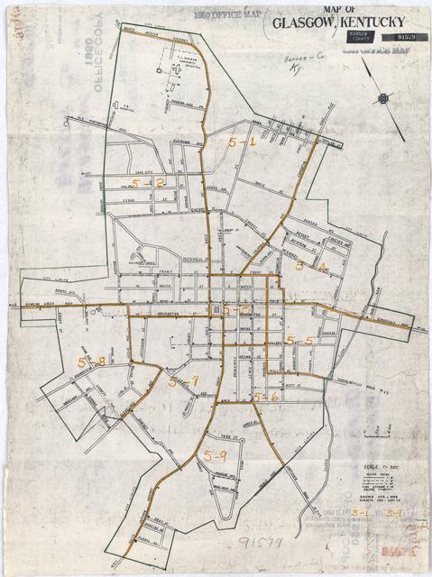 glasgow ky map