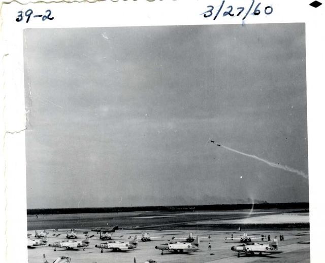 Blue Angel Aircraft Taxiing at Pensacola Naval Air Station