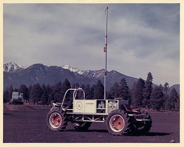 Lunar Roving Vehicle Named Explorer