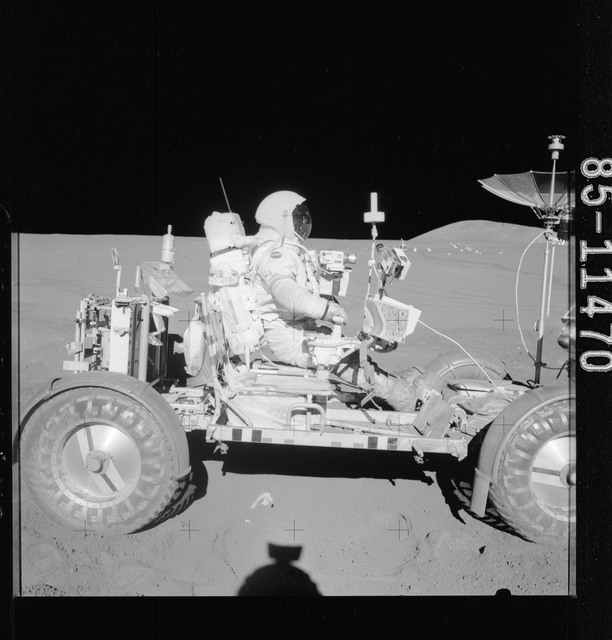 AS15-85-11470 - Apollo 15 - Apollo 15 Mission image - View of the Apollo Lunar Surface Experiments Package (ALSEP)