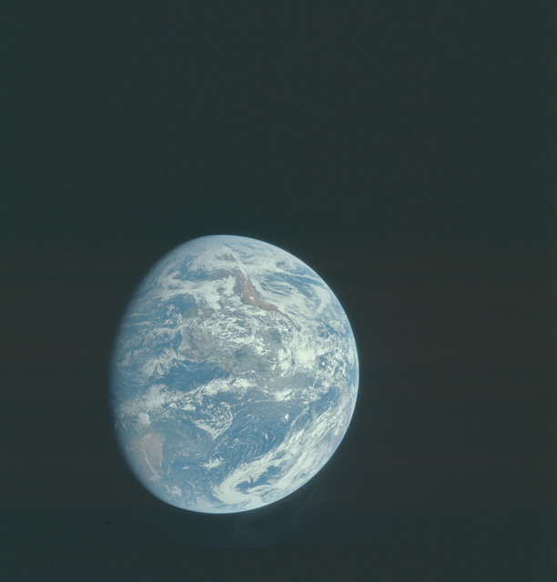AS15-91-12342 - Apollo 15 - Apollo 15 Mission image - View of the Earth