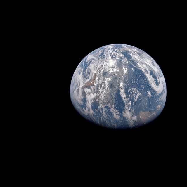 AS15-91-12343 - Apollo 15 - Apollo 15 Mission image - View of the Earth
