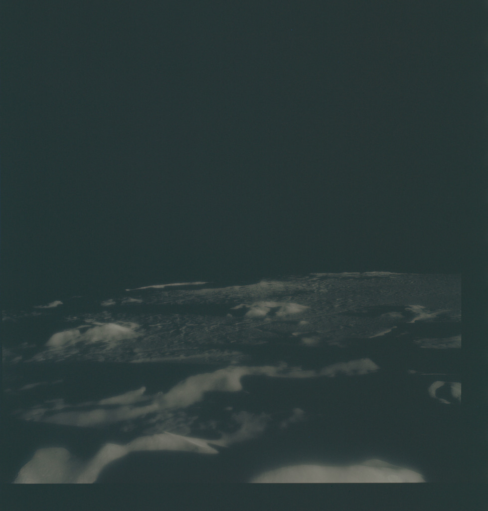 AS15-91-12394 - Apollo 15 - Apollo 15 Mission image - View of the Caucasus Mountains (Mts)