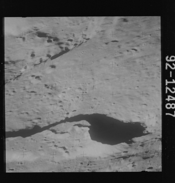 AS15-92-12487 - Apollo 15 - Apollo 15 Mission image - View of Cobra Head of Schroter's Valley.