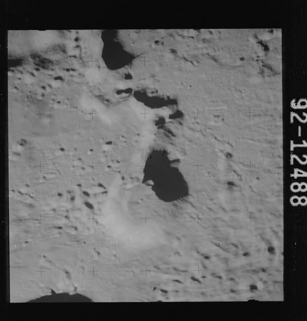 AS15-92-12488 - Apollo 15 - Apollo 15 Mission image - View of Cobra Head west of Crater Aristarchus A