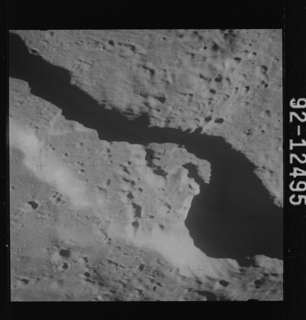 AS15-92-12495 - Apollo 15 - Apollo 15 Mission image - View of Cobra Head of Schroter's Valley