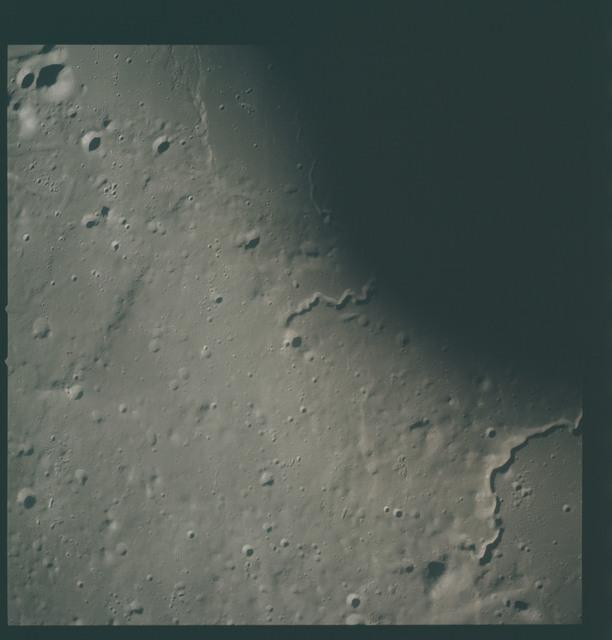 AS15-93-12619 - Apollo 15 - Apollo 15 Mission image - View of  Aristarchus Rille VIII