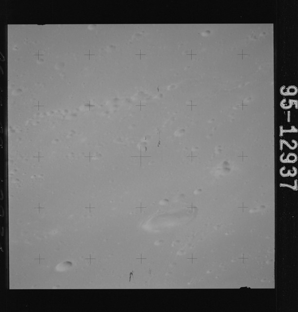 AS15-95-12937 - Apollo 15 - Apollo 15 Mission image - View of Harbinger Mts
