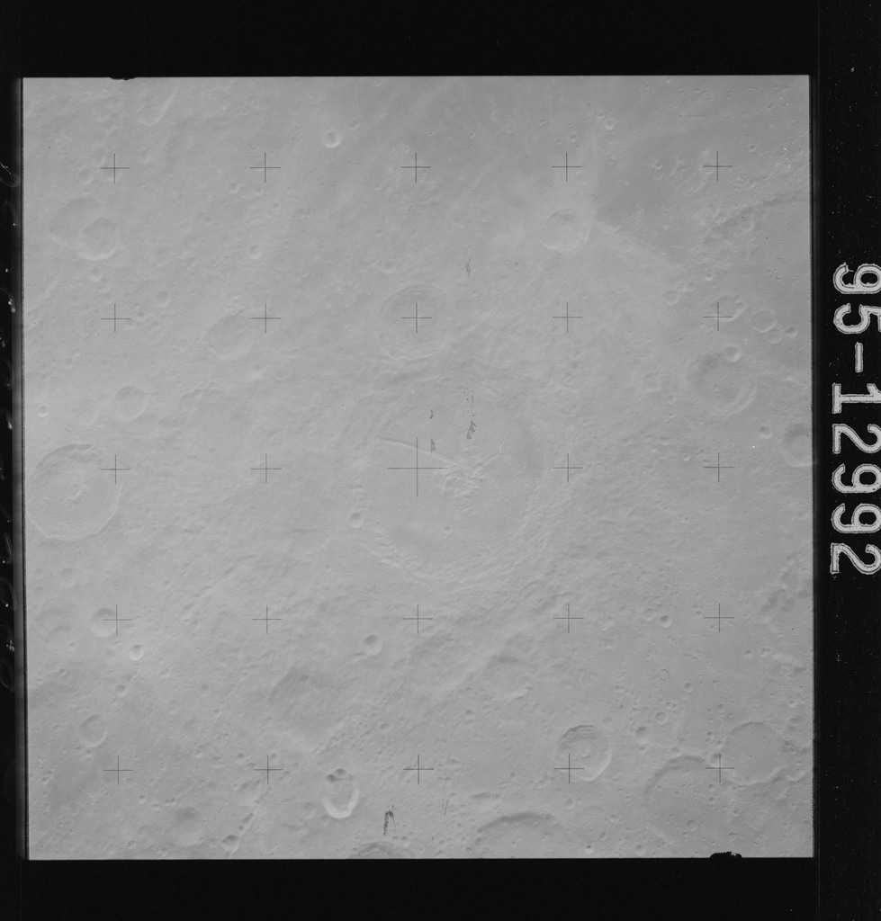 AS15-95-12992 - Apollo 15 - Apollo 15 Mission image - View of  Smyth's Sea (Mare Smythii)