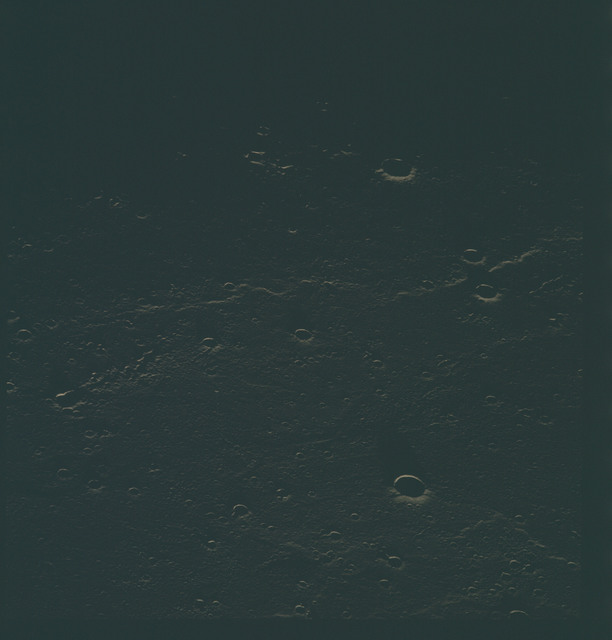 AS15-96-13030 - Apollo 15 - Apollo 15 Mission image - View of the Sea of Rains