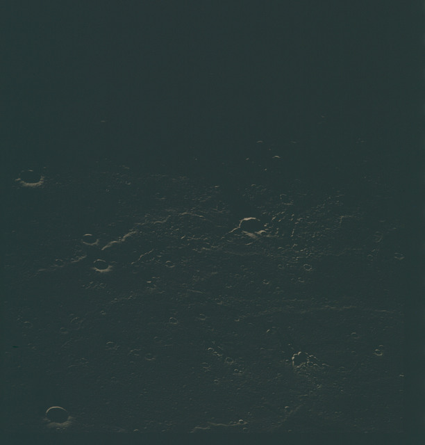 AS15-96-13031 - Apollo 15 - Apollo 15 Mission image - View of the Sea of Rains