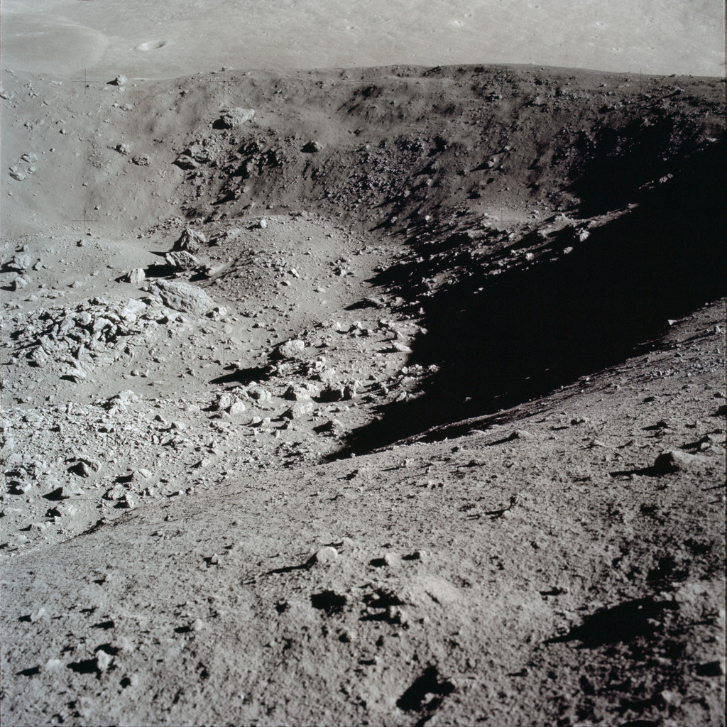 AS17-137-20992 - Apollo 17 - Apollo 17 Mission image - STA 4, Panoramic