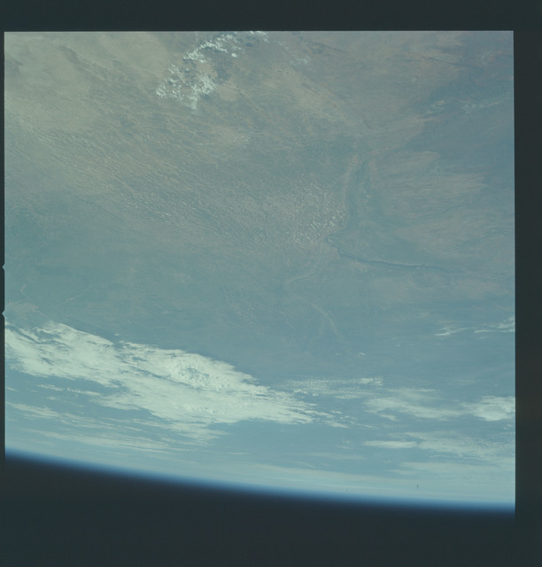 AS17-148-22628 - Apollo 17 - Apollo 17, Earth observations of South West Africa, Etosha Pans