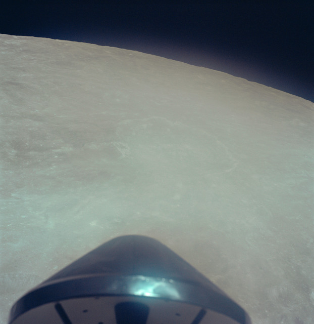 AS17-149-22780 - Apollo 17 - Apollo 17, View of the Earth, Translunar Coast,