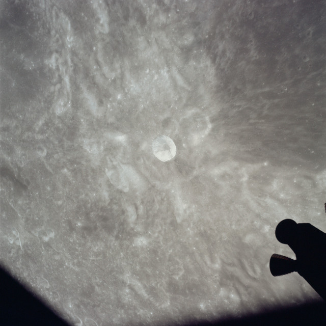 AS17-149-22783 - Apollo 17 - Apollo 17, View of moon, Lobachevsky