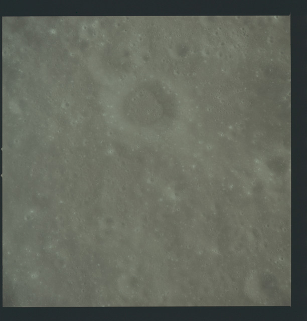 AS17-149-22836 - Apollo 17 - Apollo 17, View of moon, West Wall of Marconi