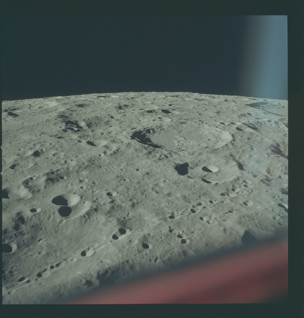 AS17-151-23238 - Apollo 17 - Apollo 17, Pavlov, Levi-Civata, Jules Verne