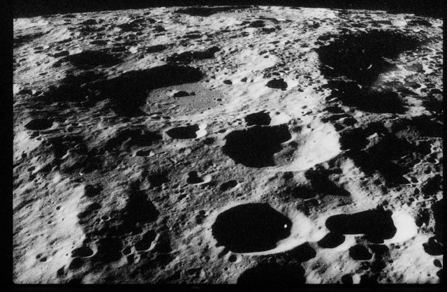 AS17-160-23948 - Apollo 17 - Apollo 17, Sea of Rains, Timocharis, East Wall