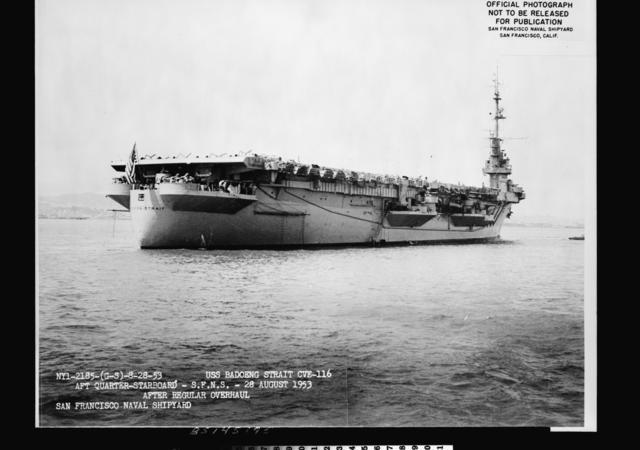 CVE-116  Badoeng Strait