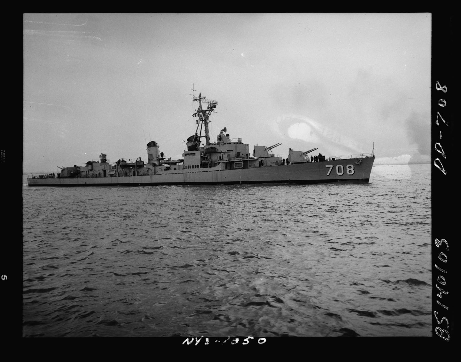 DD-708  Dixon