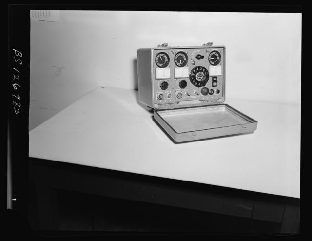 Interior Views_ Site type panel_ radio phone unit_ selector indicator