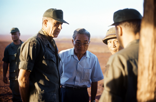 BGEN Stan McClellan, U.S. Army, CHIEF of STAFF, Military Assistance Command - Vietnam (MACV) discusses the pending exchange of American and South Vietnamese prisoners for Viet Cong (VC) and North Vietnamese (NVA)prisoners with NVA and VC negotiators