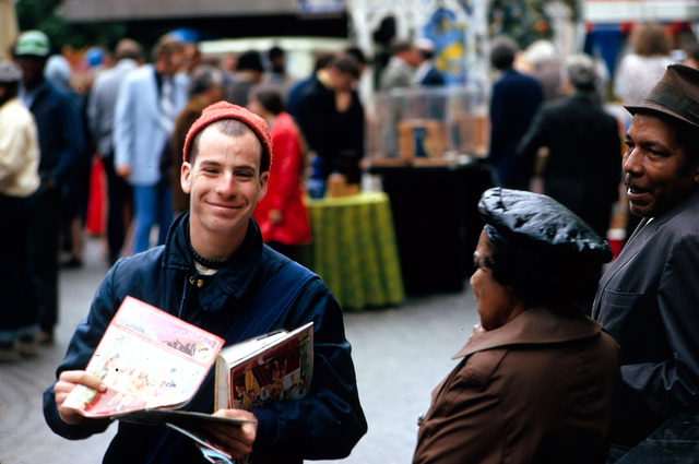 Fountain Square in Downtown Cincinnati is a Public Square that Works for the City and Its People in a Myriad Of Ways: Distributing Hare Krishna Literature at the Israeli Birthday Celebration