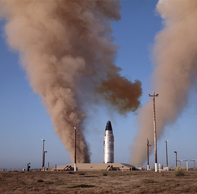 A Titan II missile is launched
