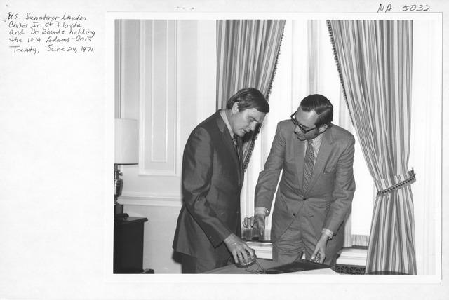 Photograph of Adams-Onis Treaty