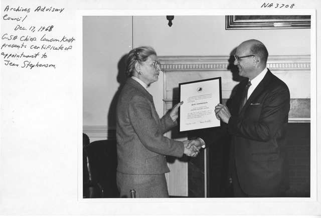 Photograph of Archives Advisory Council Appointment Ceremony