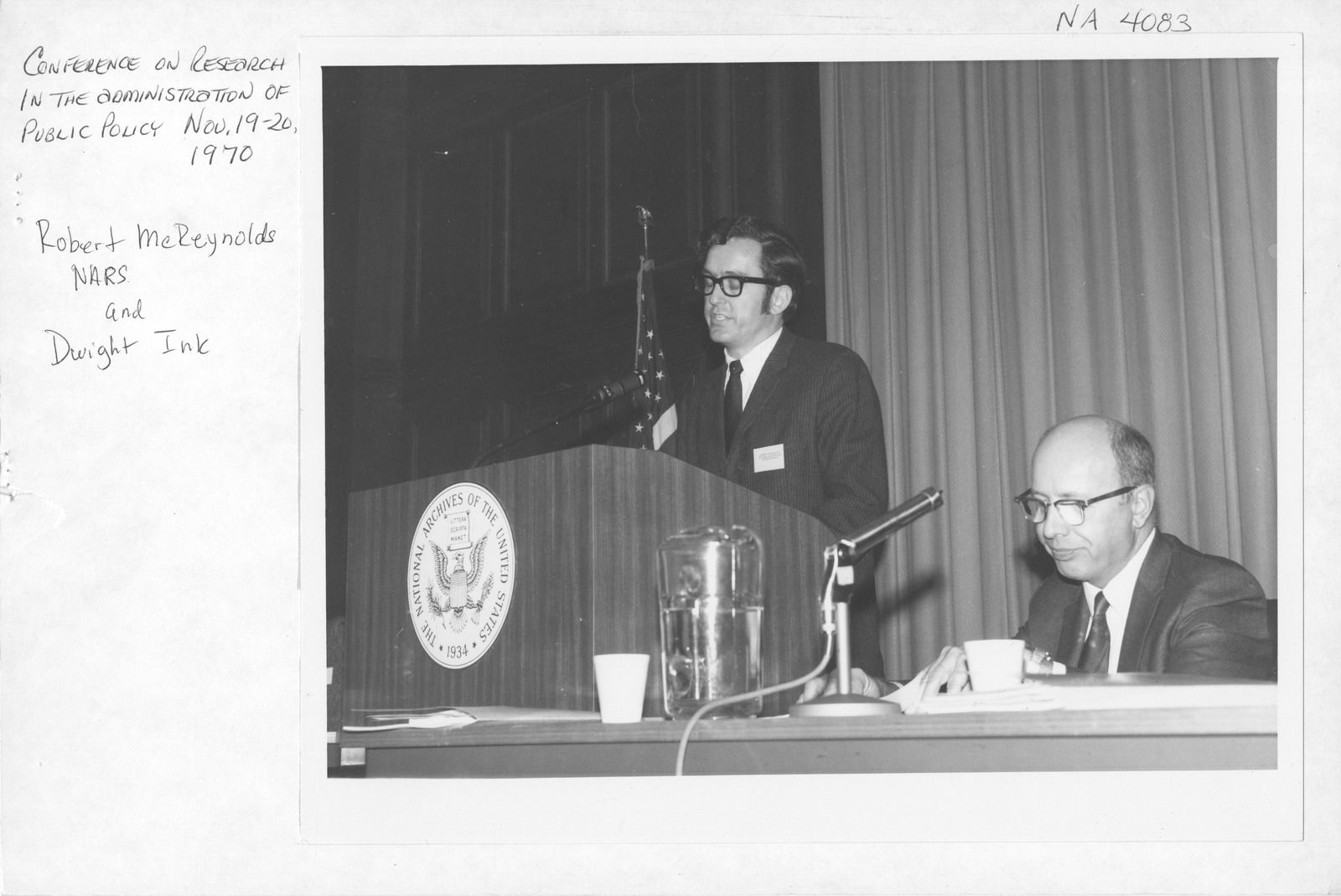 Photograph of Conference on Research in the Administration of Public Policy