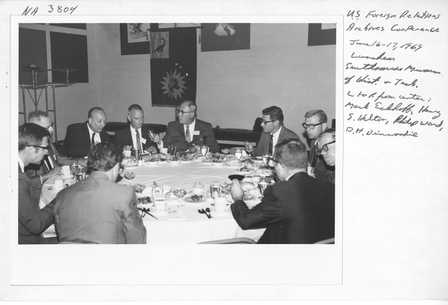 Photograph of Conference on the Archives of United States Foreign Relations