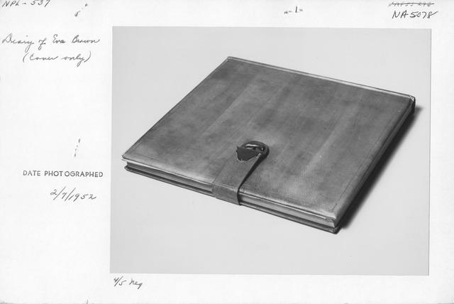 Photograph of Diary of Eva Braun