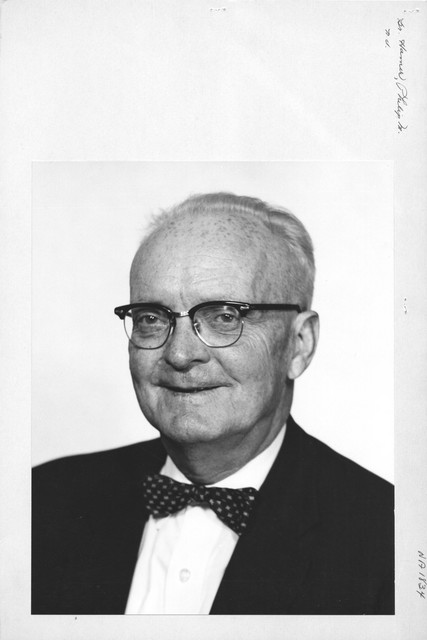Photograph of Dr. Philip M. Hamer
