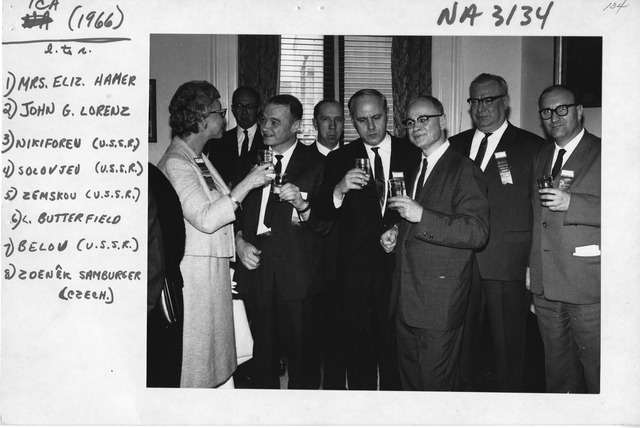 Photograph of Extraordinary Congress of the International Council on Archives