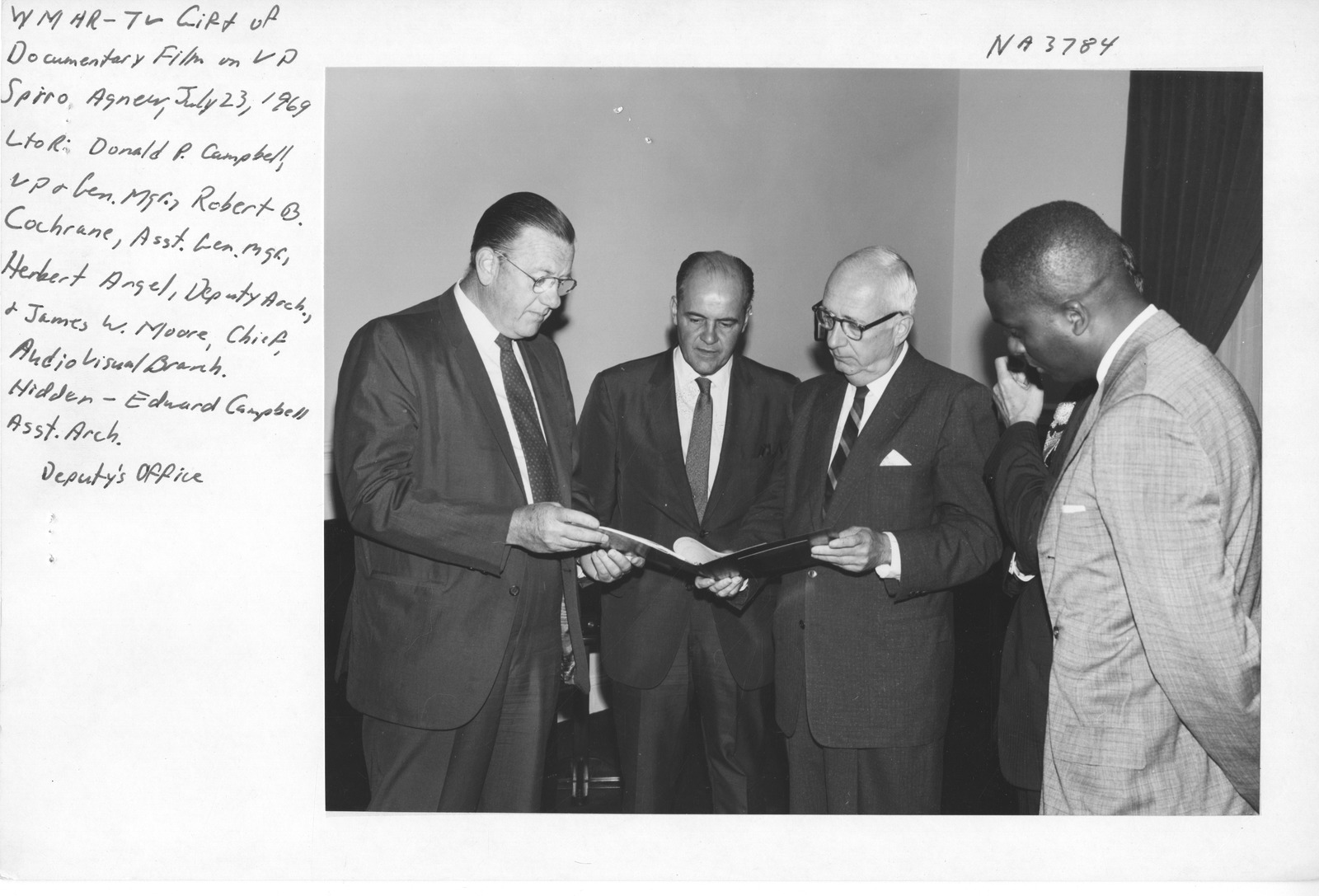 Photograph of Gift of Spiro Agnew Documentary