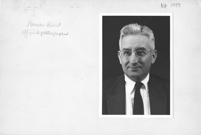 Photograph of Herman Kahn (Official Photograph)