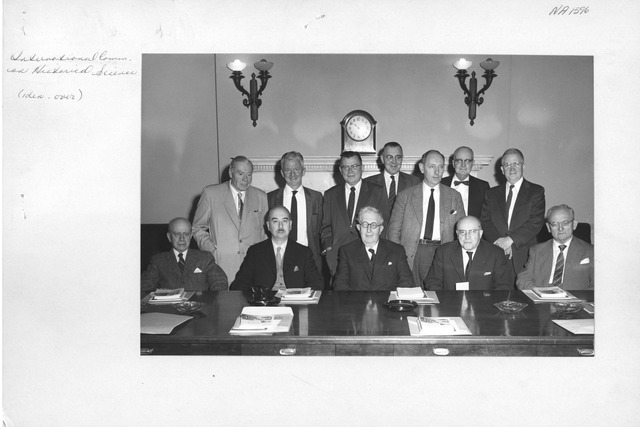 Photograph of International Committee on Historical Science