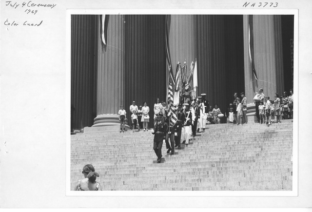 Photograph of July 4th Ceremony
