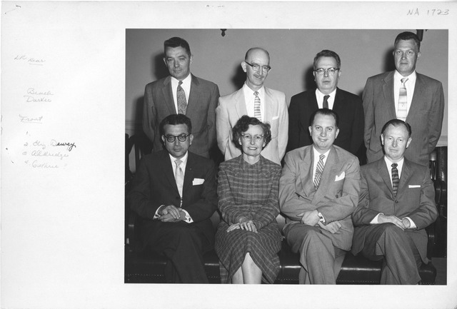 Photograph of National Archives Staff