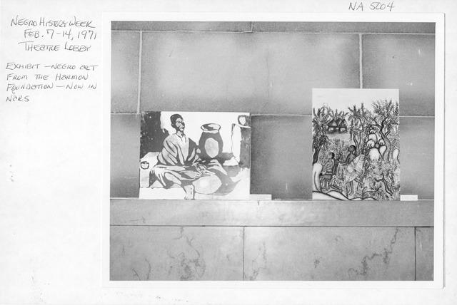 Photograph of Negro History Week Activities