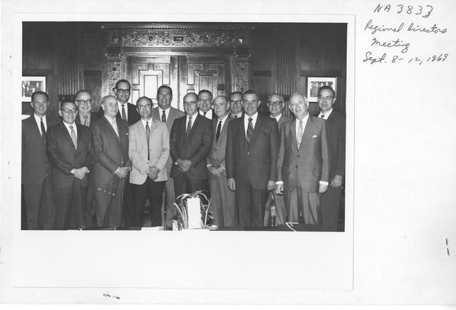 Photograph of Regional Directors Meeting
